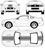 The Blueprintscom Blueprints Gt Cars Ford Mustang V8
