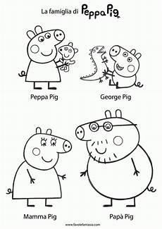 Ausmalbilder Peppa Wutz Geburtstag Peppa Pig Coloring Pages Peppa Pig Familie Peppa Pig