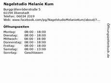 ᐅ 214 ffnungszeiten nagelstudio melanie kum