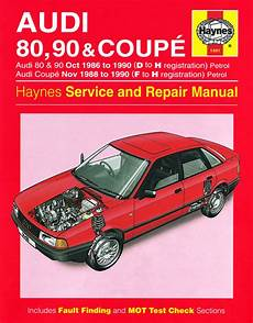 hayes auto repair manual 1988 audi 80 90 head up display audi 80 90 coupe petrol oct 86 90 d to h haynes publishing