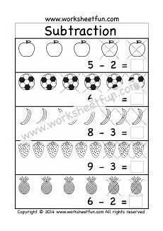 subtraction worksheets beginners 10007 beginner subtraction 5 kindergarten picture subtraction worksheets subtraction kindergarten