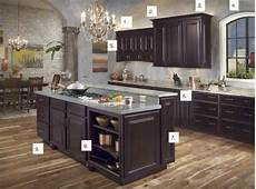 espresso kitchen cabinets about this maple espresso kitchen from waypoint connie s