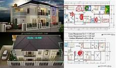 75 Desain Denah Rumah Mewah Impian 1 Dan 2 Lantai