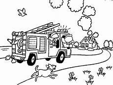 ausmalbilder feuerwehr a4 fireman coloring pages coloringpages1001