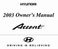 car repair manuals online pdf 2010 hyundai accent lane departure warning hyundai accent 2003 owner s manual pdf online download