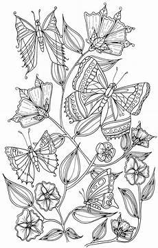 Malvorlage Schmetterling Blume Butterflies By Welshpixie On Deviantart