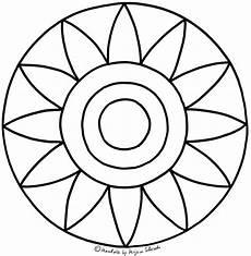 Malvorlagen Mandalas Kindergarten Ausmalbilder Blumen Mandala Inspirierend Sonniges Gute