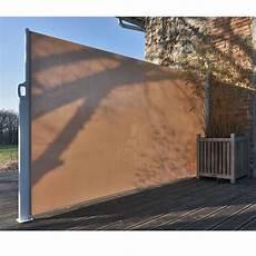 brise vent enrouleur pour terrasse abri vent brise vue mes meubles jardin