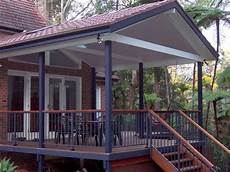 decks with roofs deck tiled roof gyprock aluminium rail deck with roofs in 2019