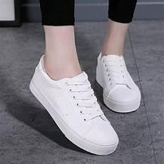 jual sepatu kets korea murah warna putih di lapak fasna shoes store fikri adirahman