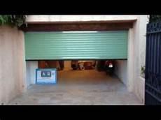 porte garage motorisée porte de garage enroulable motoris 233 e pos 233 e par apg acc 232 s