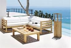 canape exterieur bois voir la s 233 lection de table de jardin pour vous