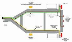 boat trailer wiring diagram 4 way gallery