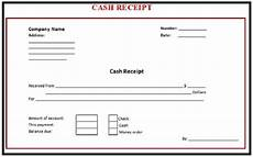 6 receipt templates word templates