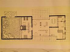 mies van der rohe house plans guenter conrad student of mies van der rohe living and