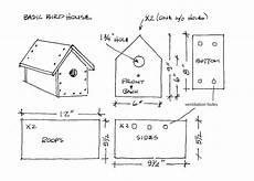 cardinal bird house plans build a simple birdhouse it s easy