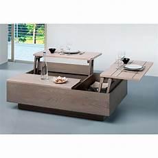 table basse avec plateau fabriquer votre propre table basse relevable en