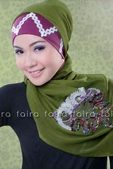 Model Trendi Jilbab Faira Terbaru 2017