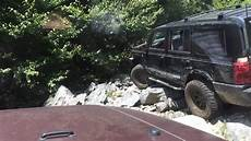 jeep commander road and on the rocks in doe valley pa