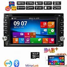 radio doppel din hizpo gps navigation hd din car stereo dvd player