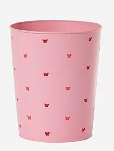 papierkorb kinderzimmer vertbaudet papierkorb f 252 r kinderzimmer m 252 lleimer in rosa