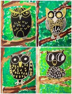 owl 2nd grade one of my favorite lesson ideas ever owls art projects for kids art