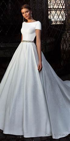 Simple Wedding Gown Designs