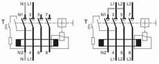 hager cd480u rccb four pole 80a 30ma rcd residual current device