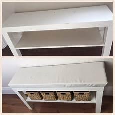 Ikea Lack Tv Bank Hack - turn a 163 7 lack tv unit into a hallway bench ikea hallway