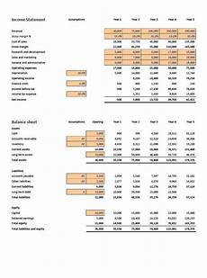 financial projections excel template eloquens