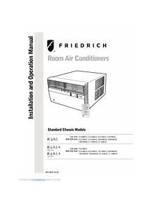 friedrich kuhl em18m34 manuals