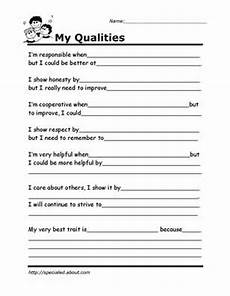 printable worksheets for kids to help build their social skills counseling self esteem