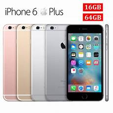 apple iphone 6 plus 16gb 64gb unlocked smartphone no