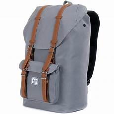 herschel america backpack grey pu