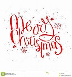 merry christmas phrase white stock vector image 63774903
