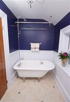 Small Bathroom Ideas Blue And White by Navy Blue And White Paint Color For Small Bathroom
