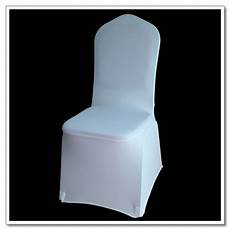 50pcs white flat front cover spandex lycra chair covers wedding party for sale