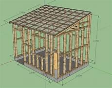 construire cabanon 201 pingl 233 par zangul sur abri jardin bois en 2018