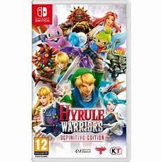 jeux de warrior hyrule warriors definitive edition nintendo switch jeux vid 233 o achat prix fnac