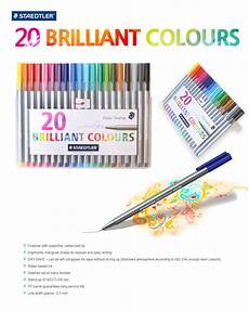 staedtler triplus fineliner ink pen 20colors for aritist