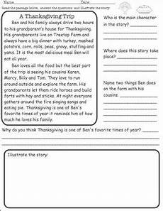 thanksgiving reading comprehension free tpt free