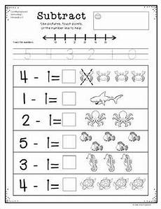 subtraction worksheets class 1 10021 basic subtraction to ten with picture support set 2 by grade one snapshots