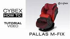 Cybex Pallas M - cybex pallas m fix tutorial