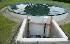 Pool In Erde Einbauen - bauanleitung f 252 r rundpool pooldoktor at
