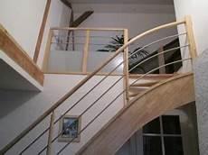 escalier pas cher sur mesure le gc68 un escalier bois et inox moderne et pas cher