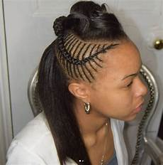 side braid hairstyles with weave 30 beautiful fishbone braid hairstyles for black part 5