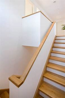 handlauf treppe holz treppenhaus flur diele puschmann architektur
