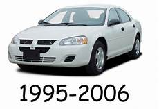 car repair manuals online free 1995 dodge stratus security system dodge stratus 1995 2006 service repair manual download download