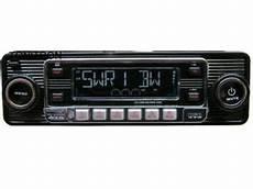 Retro Usb Sd Cd Mp3 Retro Design Look Oldtimer Autoradio
