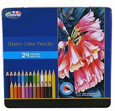 amazon com duoral 24 piece watercolor pencils artist